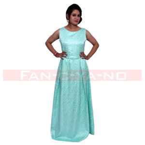 Light Green Long Gown